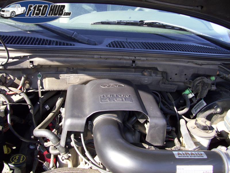 46L  54L Ford F-150 IAC Valve Replacement Procedures