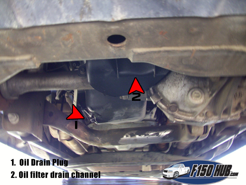 How to Change the Engine Oil in a Ford F-150