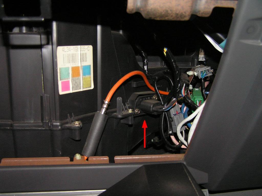 Replace 04-08 fan blower motor resistor EMTC HVAC - F150online Forums