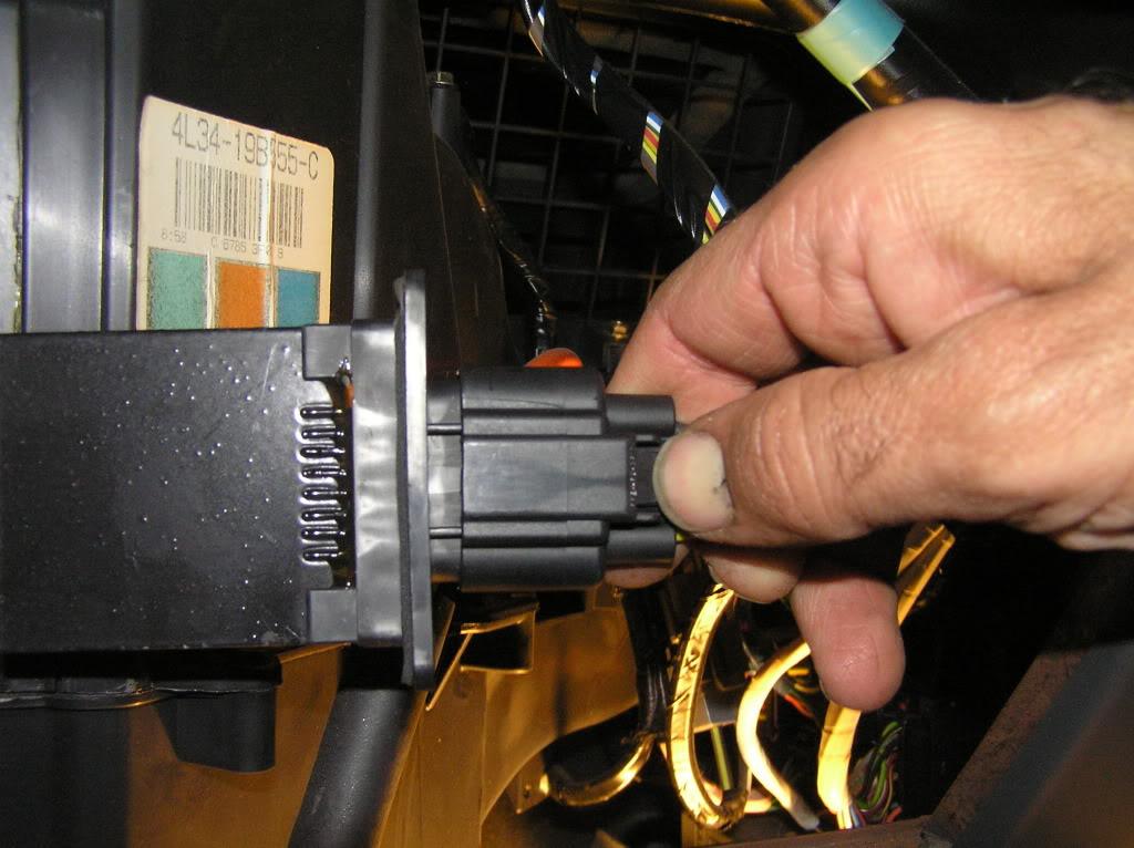Replace 04 08 Fan Blower Motor Resistor Emtc Hvac