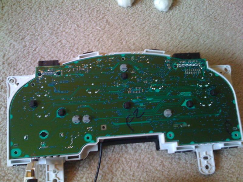 Odometer Backlight Repair - F150online Forums