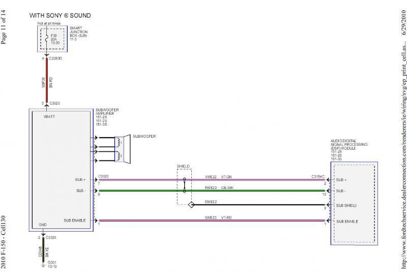 2010 ford escape wiring diagram