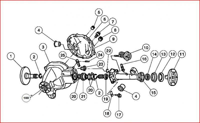 axle actuator not engaging the differential it is 9 in this diagram