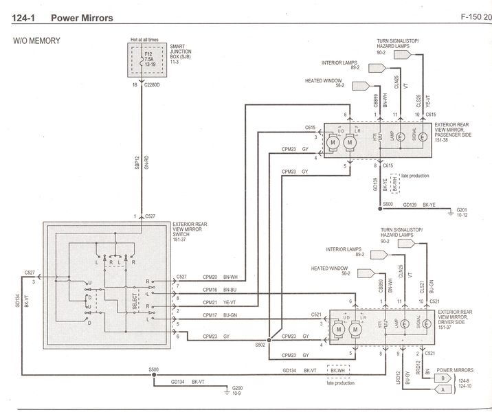 wiring diagrams f150online forums