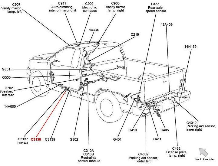 2006 ford f150 wiring diagram reverse