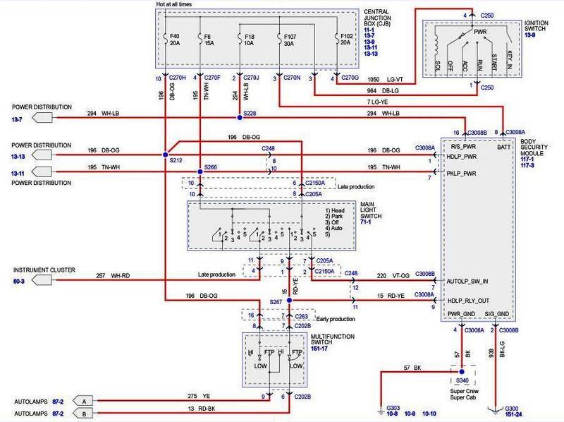 2002 ford f250 wiring schematic
