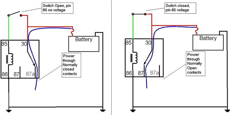 5 pin relay operation