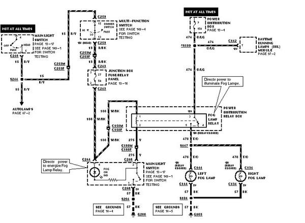 1998 Explorer Fog Light Wiring Diagram Wiring Diagram Ebook