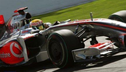 Hamilton reinaba en la segunda sesión de los entrenamientos libres, pero poco le iba a durar la alegría.