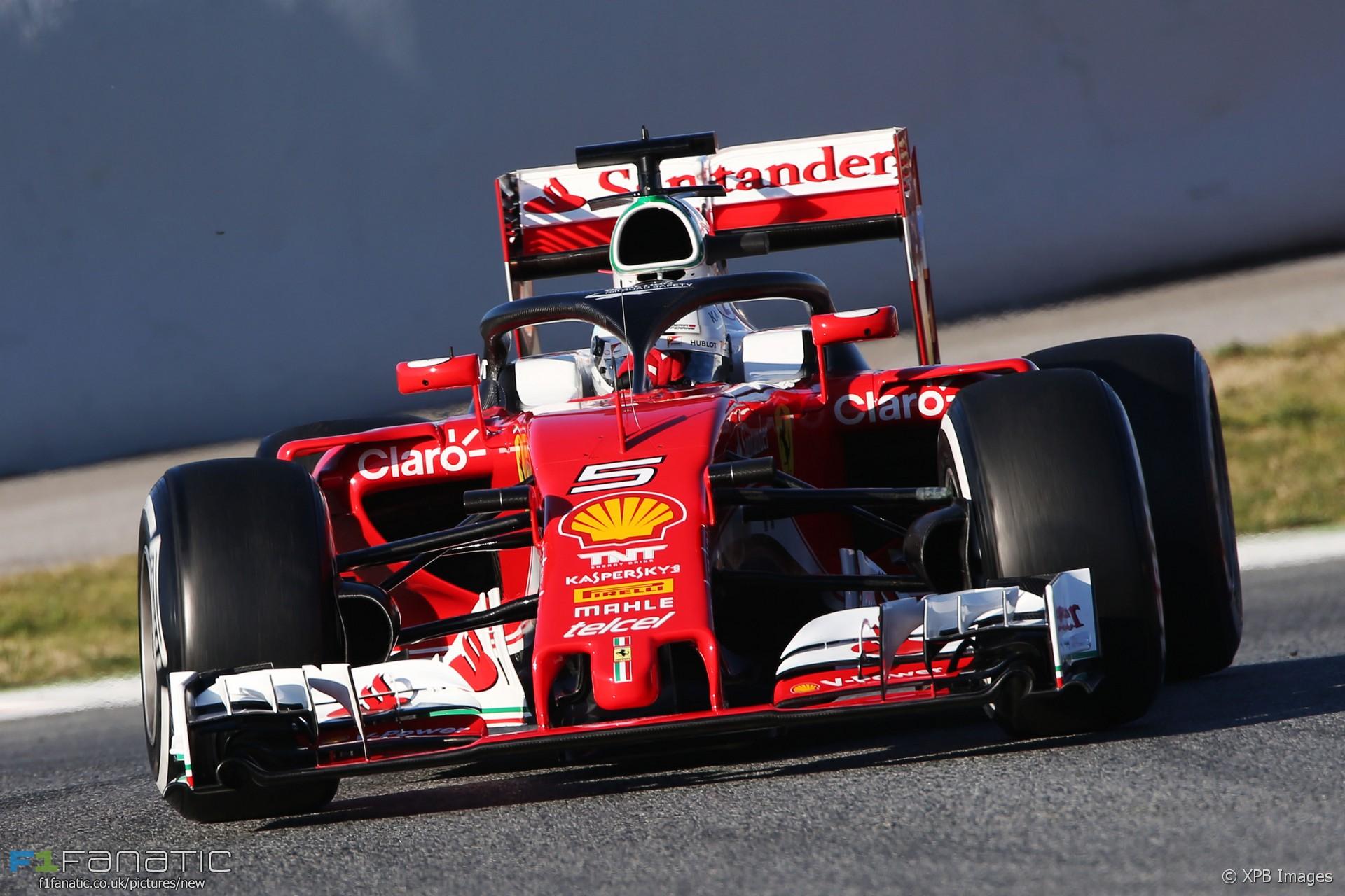 Oooo Car Wallpaper Sebastian Vettel Ferrari Circuit De Catalunya 2016 183 F1