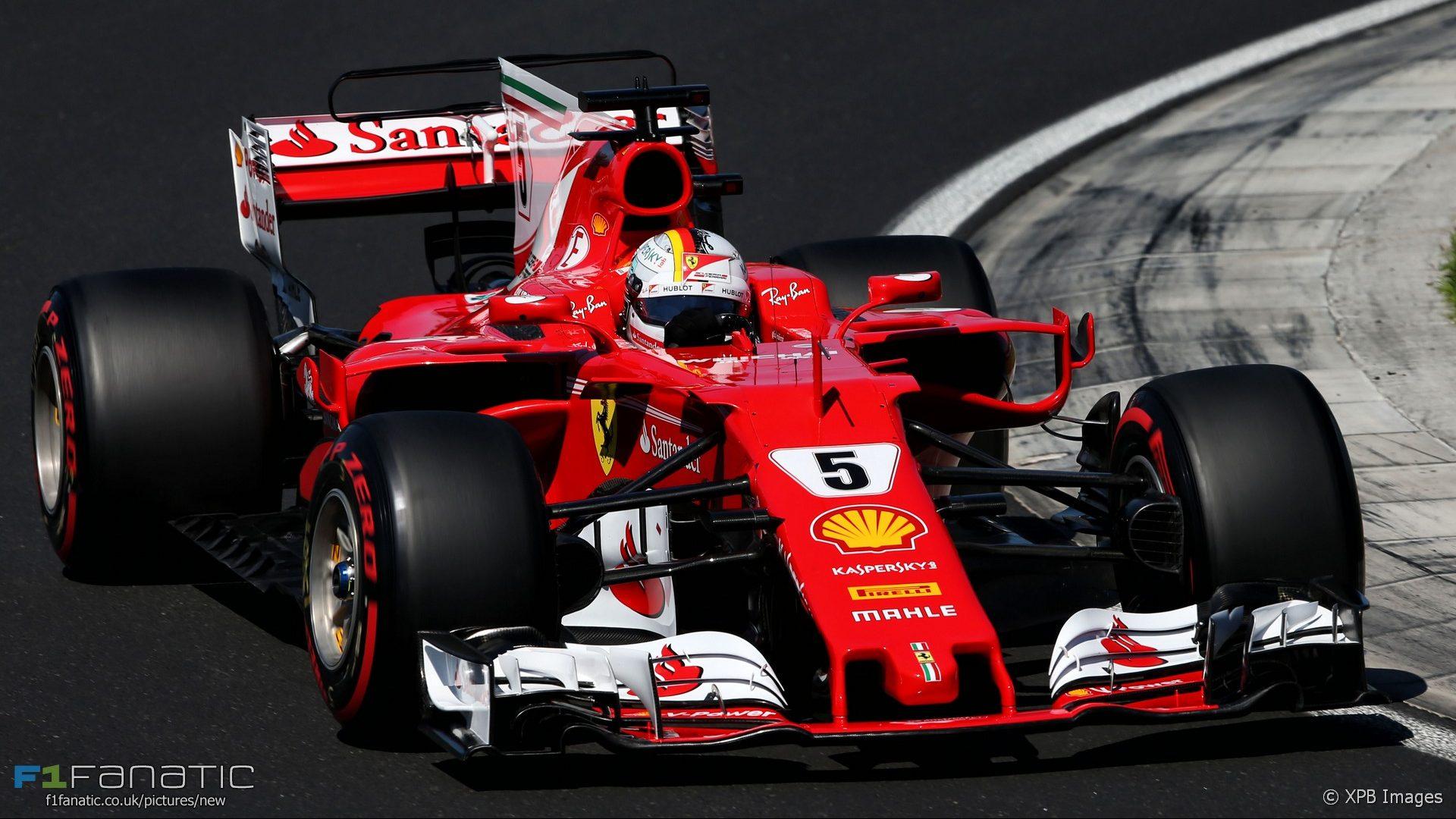 Criminal Girls Wallpaper 1920 Sebastian Vettel Ferrari Hungaroring 2017 183 F1 Fanatic