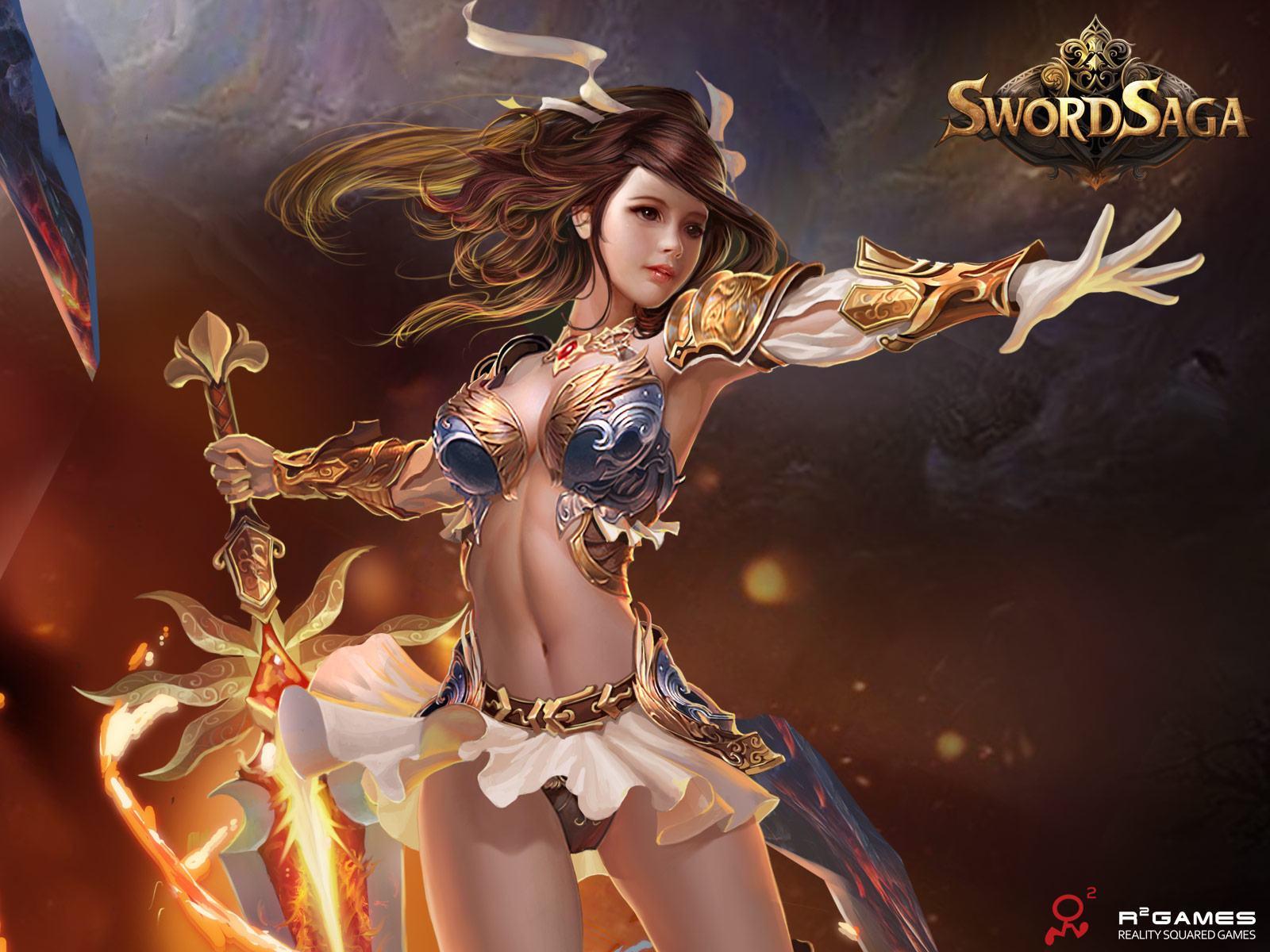 Fantasy Girl Wallpaper 1080p Sword Saga Wallpapers