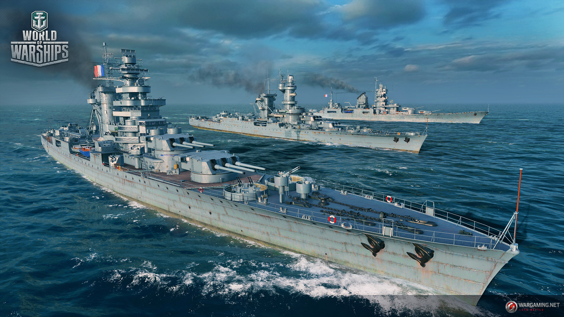 Fighting Wallpaper Hd World Of Warships Welcomes French Cruisers