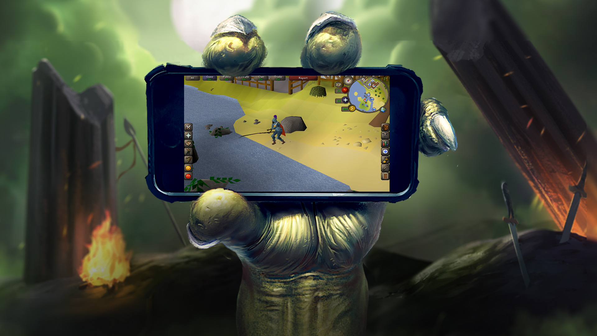 New 3d Wallpaper For Pc Runescape Coming To Mobile