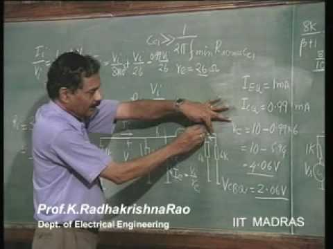 Transistor Biasing Using Single Supply Diodes video lecture – Lecture – 25