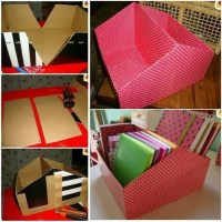 Diy Shoebox Organizer - DIY Projects