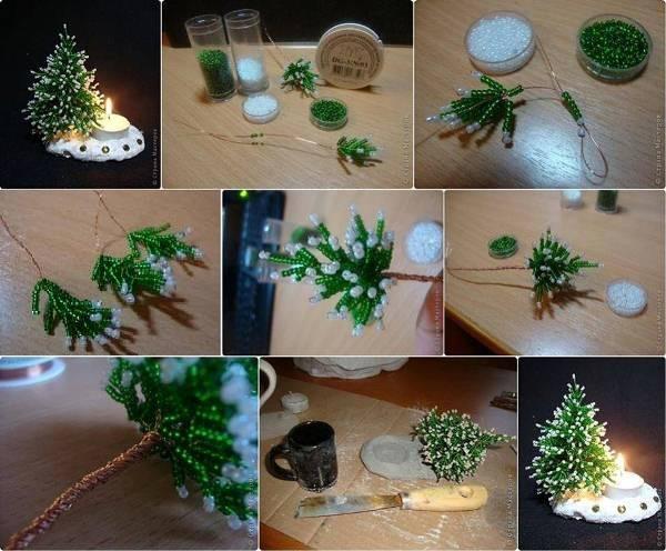 diy mini christmas tree - Rainforest Islands Ferry - mini christmas tree decorations