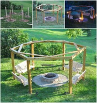 Pergola With Fire Pit | Outdoor Goods