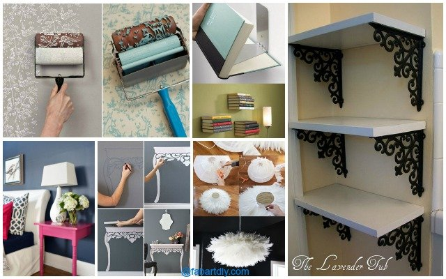 10 Low Budget DIY Home Decoration Projects - home decor on a budget