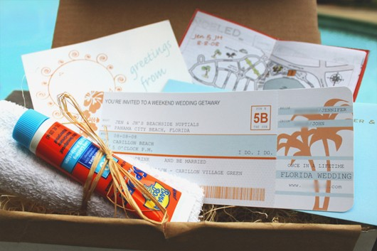DIY - Airplane Ticket Invitations - Fab Fatale - plane ticket invitation template