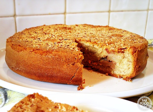 Lillian's Apple Cake - my childhood favourite! Fab Food 4 All