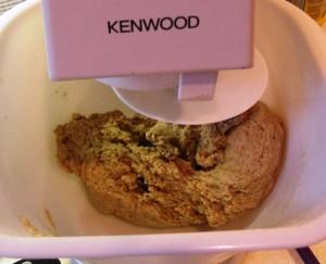 Rye bread dough, Kenwood