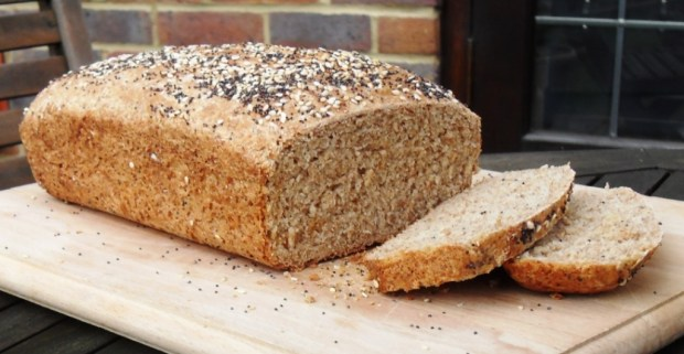 Sliced Spelt and Wholemeal Loaf