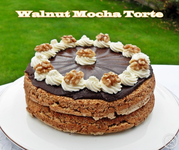 Walnut Mocha Torte - Fab Food 4 All