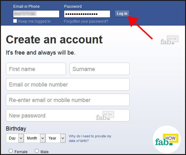 How to delete email from facebook login page ltt how to remove your home address and cell phone number from facebook facebook login approvals login to facebook ccuart Images