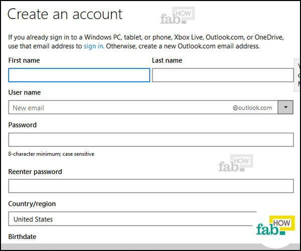 Create A New Profile In Outlook Create An Outlook Profile Outlook How To Make A Hotmail Or Outlook Email Account In No Time
