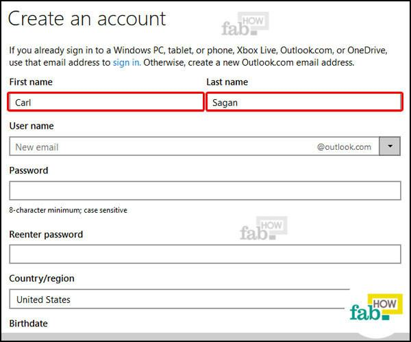 How to Make a Hotmail or Outlook Email Account in No Time - create outlook account