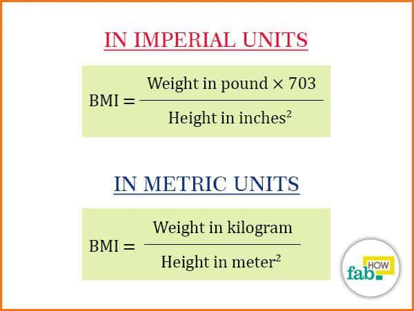 How to Correctly Calculate your Body Mass Index (BMI) Fab How - bmi calculation formula