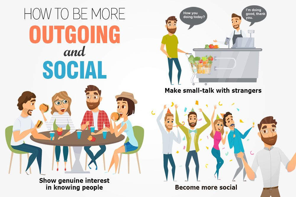 How to Be More Outgoing and Social (20+ Pro Tips) Fab How - how to be