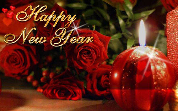 wish you all a happy new year with a tender and romantic night of love. 1920 x 1201.Happy New Year Graphics Free Download
