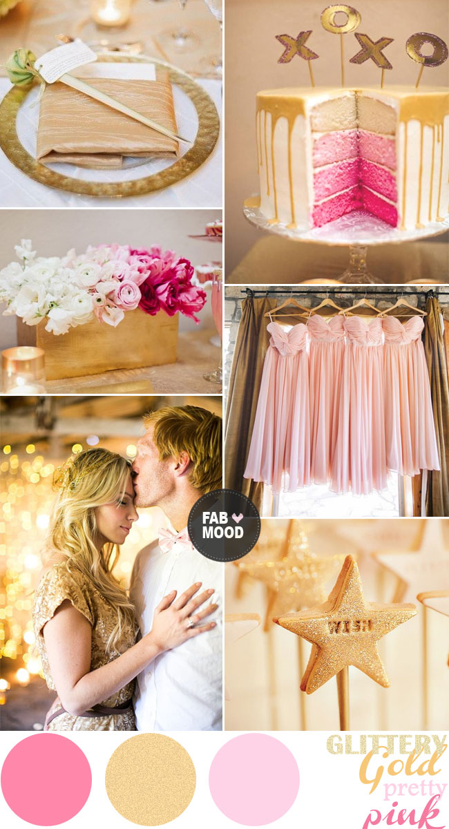 Blush pink wedding theme { 36 Pretty blush pink color combinations } - pink wedding photo