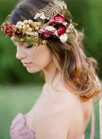 14 Bridal Hair Flowers with wow factor,bridal hairstyles