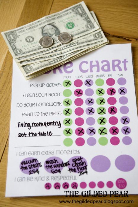 Free Printable Chore Charts for Kids Fab N\u0027 Free