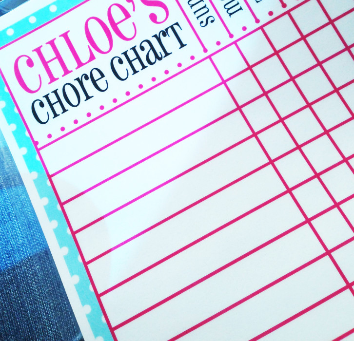 Free Printable Chore Charts for Kids Fab N\u0027 Free
