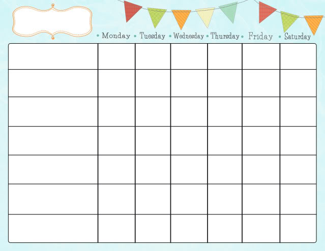 Free Printable Chore Charts for Kids Fab N\u0027 Free - sample chore chart
