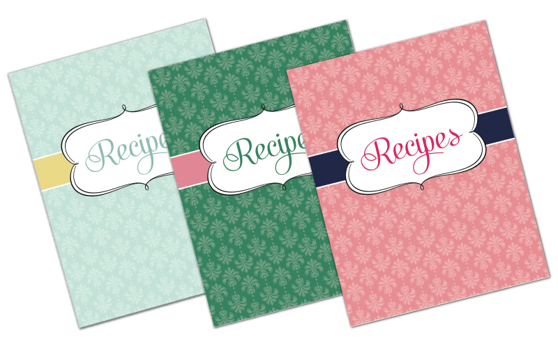Free Recipe Binder in 3 Color Options! Fab N\u0027 Free