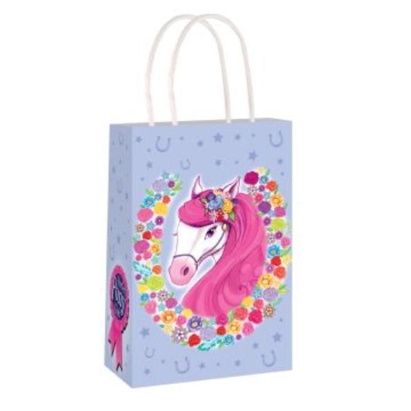 Fab Party Bags Pony Design Paper Bag