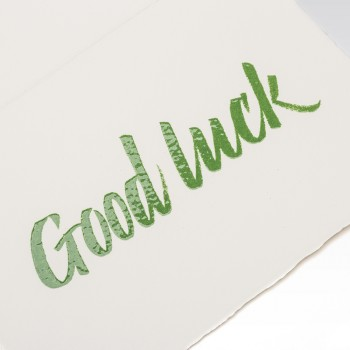 Cards and Stationery - Products - good luck cards to print