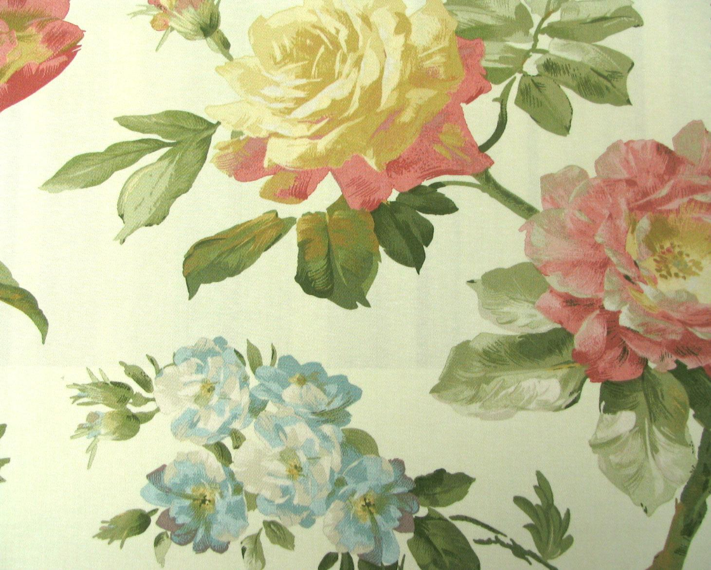 Waverly Fabrics Casa Di Fiori Cameo Interiordecoratingcom