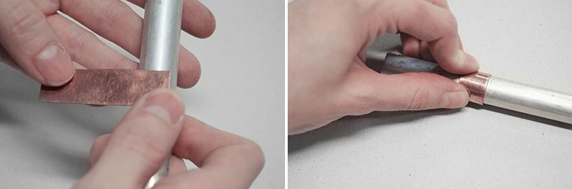 diy anillo cobre fabrica de imaginacion paso6