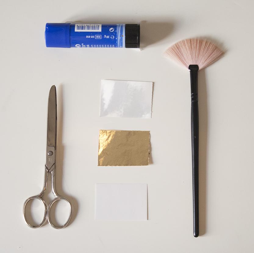 materiales diy gold tattoo fabricadeimaginacion