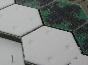 Sosele solare - testul zapezii