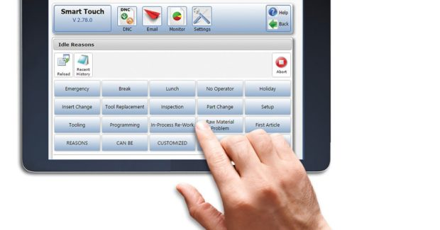Intelligent Shop Floor Interface for Operator Feedback - shopfloor control