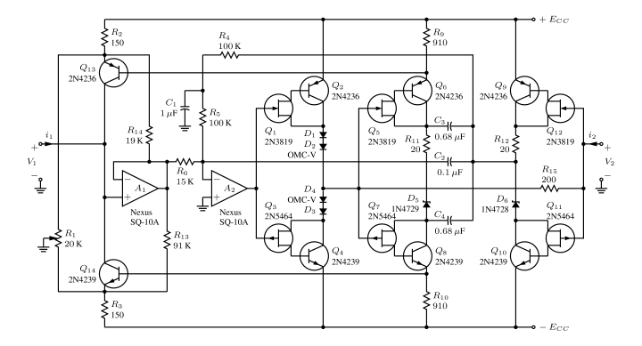 example of electronic circuit design