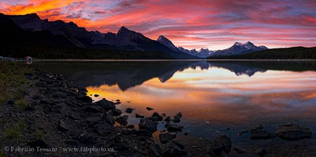 MALIGNE LAKE,Jasper National Park, Alberta, Canada