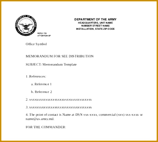 6 Accounting Memo Template FabTemplatez - point of contact template
